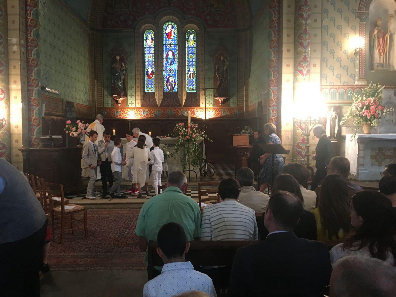 Premiere des communions 1 2018